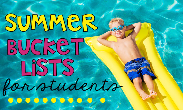 Your students will stay engaged the last few days of the end of the year writing their own Summer Bucket List. It's a perfect way to have an end of year activity even if summer is right around the corner.