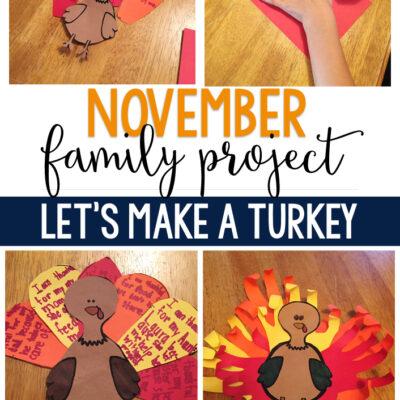 Promoting Family in November