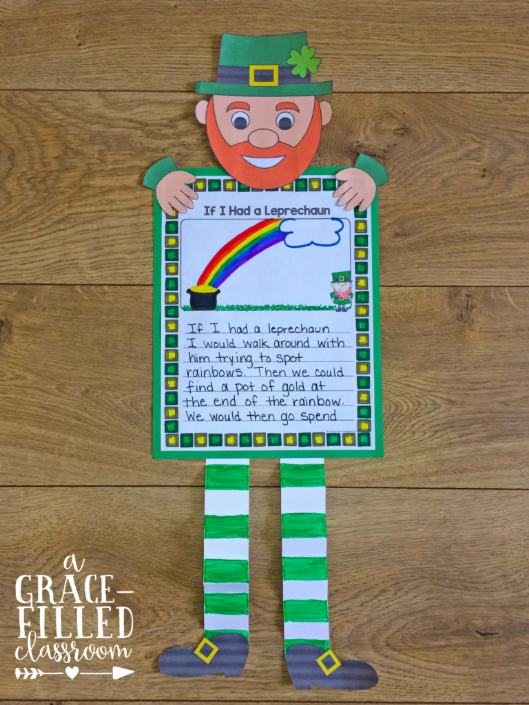 FREE! No leprechaun tricks, here! This FREEBIE is all about getting your students writing on Saint Patrick's day! Click NOW to download your free writing prompts!