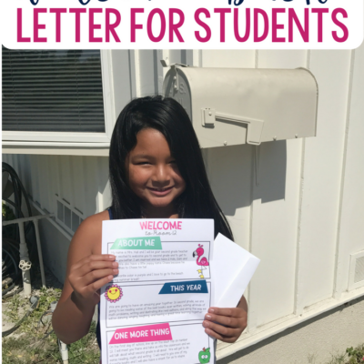 Secrets to An Awesome Back to School Letter
