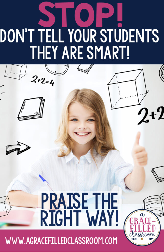 praising students, growth mindset