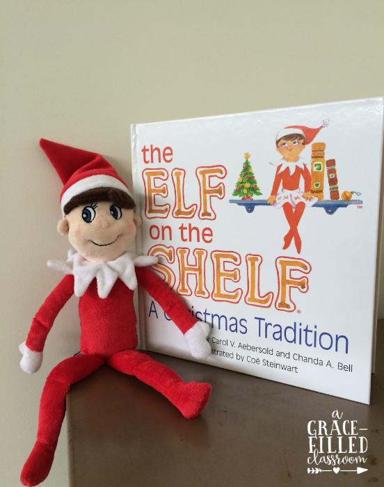 Christmas elf freebie, elf on the shelf