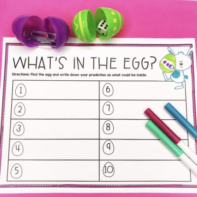 5 Ways Reuse Plastic Easter Eggs in Your Classroom