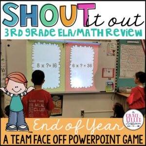 end of year game ela and math review 3rd grade