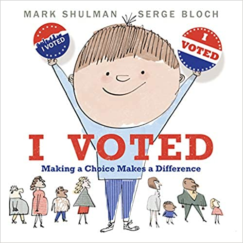 """cover of the book """"I voted"""""""
