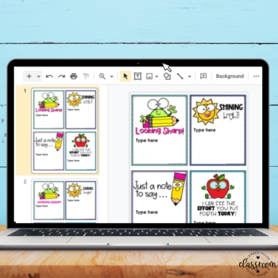 How To Share Digital Positive Notes during Distance Learning