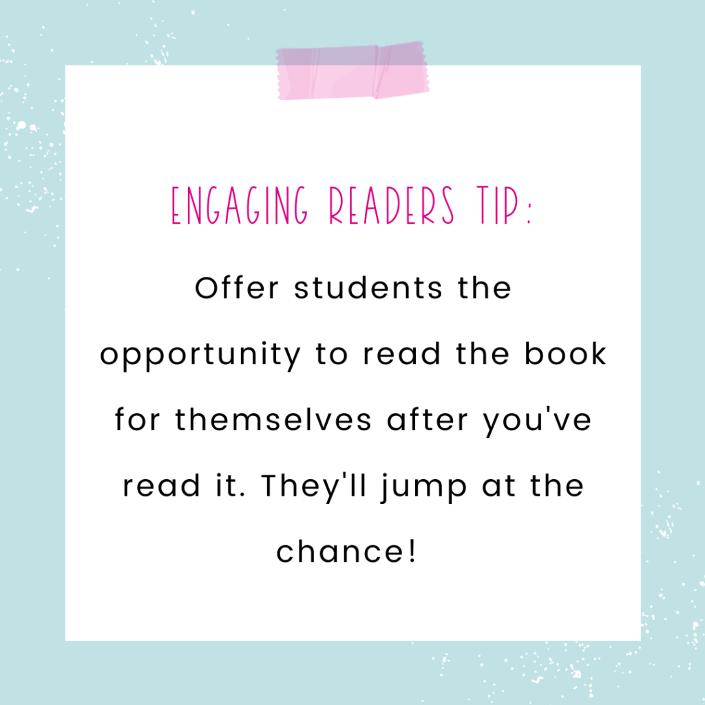 engaging readers tip quote